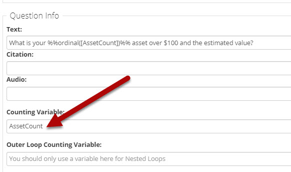 Repeat Loop_Asset Count in question text section.png