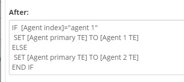 Primary Agent Logic Example